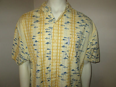 Columbia Performance Fishing Gear Short Sleeve Button  Vented Shirt Mens Xl