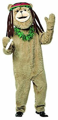 Ted 2 Rasta Costume Kit Official Mascot  Accessory Adult Halloween, one size