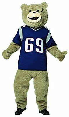 Ted 2 Football Jersey Costume Kit Official Mascot  Adult Halloween, one size