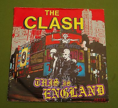 "*rare* Clash 7"" This Is England..punk..strummer"
