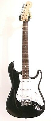 Fender Squier Affinity Series Black Stratocaster RW Electric Guitar -Blem #A2003