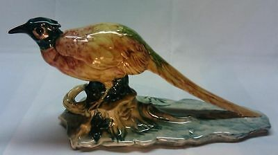 Stangl Chinese Pheasant #3457 Exc -VTG Art Pottery Bird/Animal Figurine B