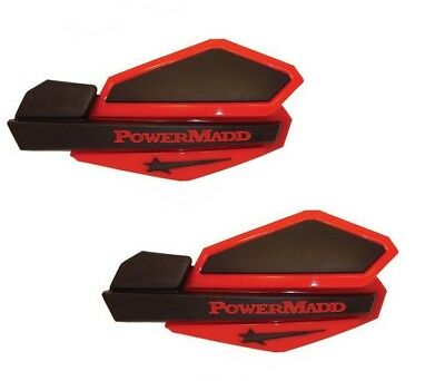 POWERMADD 2008-2009 TRX700XX SENTINAL HANDGUARDS RED//BLACK 34402 Honda