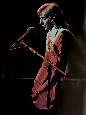 Vintage 1970s~BARRY MANILOW~Piano Solo Mandy Poster