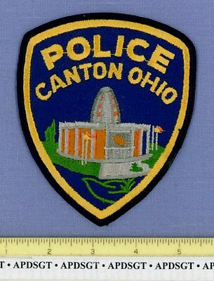 CANTON OHIO OH Sheriff Police Patch NFL PRO FOOTBALL HOF HALL OF FAME