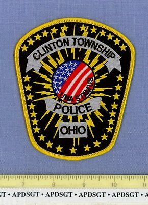 CLINTON TOWNSHIP OHIO OH Sheriff Police Patch ELECTRIC!!!