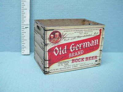 "Dollhouse Miniature Tall Assembled Crate /""Old German/"" Laser Creations 1//12th"