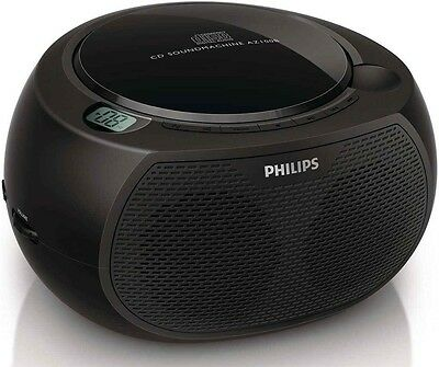 Philips CD Soundmachine (AZ100B) (Black)