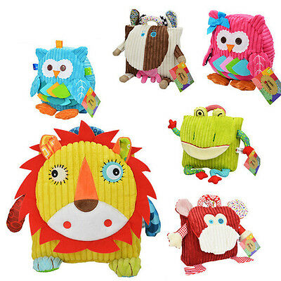 New Cute Kid Toddler Backpack Kindergarten Schoolbag Plush 3D Cartoon Animal Bag