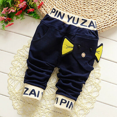 Kids Baby Boys Clothes Clothing Casual Pants Toddler Boy Autumn Long Trousers