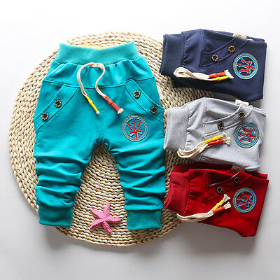 Infant Baby Boys Clothes Clothing Casual Pants Toddler Boy Autumn Long Trousers