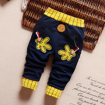 Infants Baby Boys Clothes Clothing Casual Pants Toddler Boy Spring Long Trousers