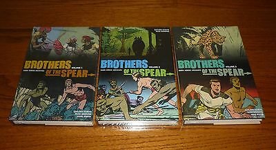 Brothers of the Spear Archives Volume 1, 2, 3 SEALED HCs, Dark Horse, Dell Comic