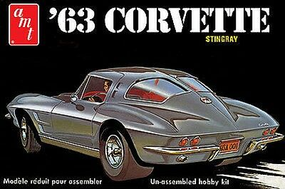 AMT 1/25 1963 Chevy Corvette AMT861 Plastic Model Kit Brand New