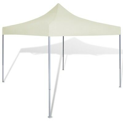 New 3x3m Cream Outdoor Gazebo Folding Party Tent Canopy Marquee Pop Up Wedding