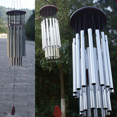 27 Tubes Large Wind Chimes Bells Copper Outdoor Garden Home Decor Ornament Gifts