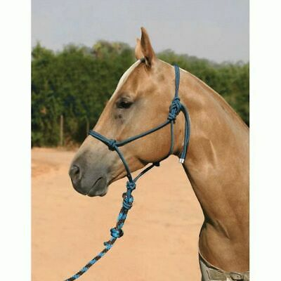 "Professionals Choice Rope Halter w/10"" Lead"