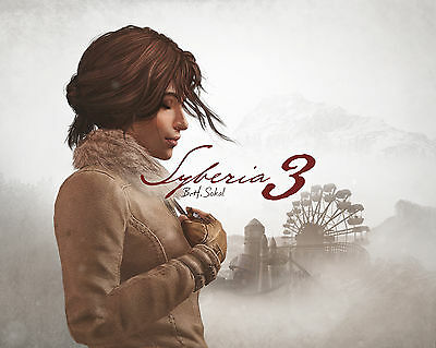 Syberia 3 - FOR PC (Steam Key - EUROPE ONLY)
