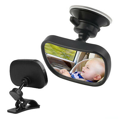 Baby Mirror Back Car Seat Cover for Infant Child Toddler Rear Ward Safety View