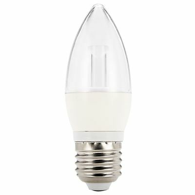 NEW  BRILLIANT LED Candle 6 watt E27 globe By Freedom