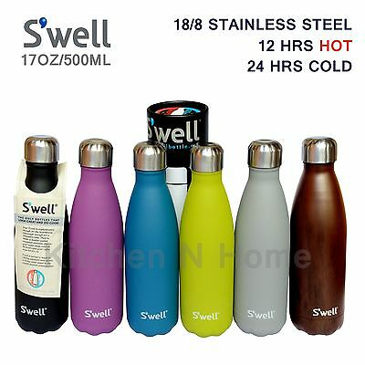 S'well water bottle, Genuine Swell bottle,vacuum insulated, Flask,Vacuum thermos