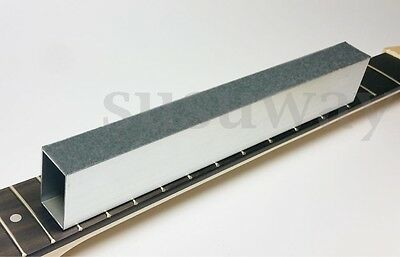 New Aluminum Beam Luthier Tool Accessory 8'' Guitar Bass Fret Leveling File