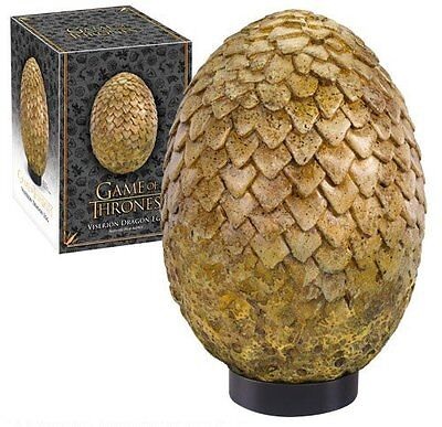 Game of Thrones : Viserion Dragon Egg Noble Collection - NEW