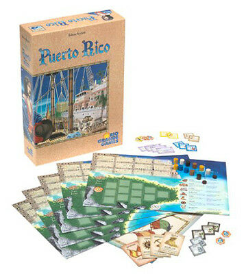 Puerto Rico Board Game : Rio Grande Games - New