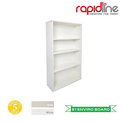 Rapid Vibe Bookcase- 2 Colours and 2 Dimensions