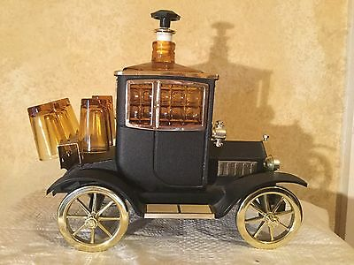 Vintage Car Ford 1915 Glass Bar Man Cave Decanter