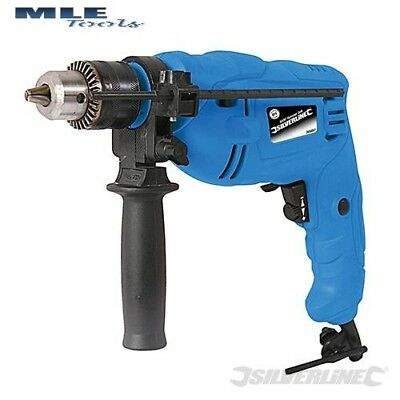 DIY 500W Compact Hammer Drill power tool DIY Corded Silverline  S265897 265897