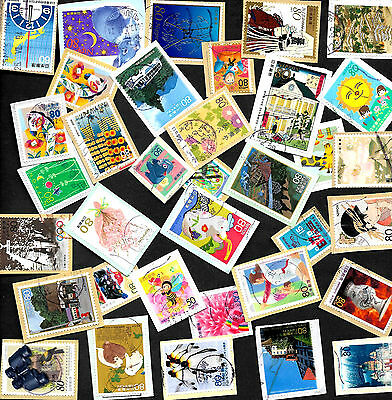 Over 100 Mixed Japanese Commemoratives from Kiloware on paper Ref J100 17/27.
