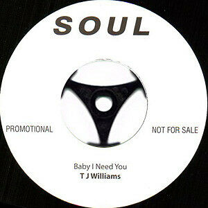Northern Soul T.J. Williams/Betty Brookes -  Baby I Need You/Funky Funky