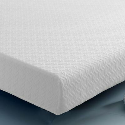 Happy Beds Deluxe Reflex Foam Spring Rolled Mattress Orthopaedic Hypoallergenic