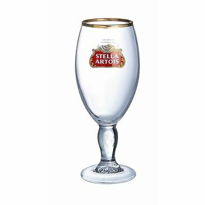 Arcoroc Stella Artois Chalice Beer Glass 570ml for Pubs and Bars Pack of 24