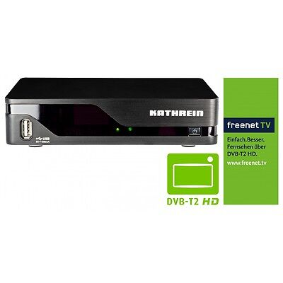 KATHREIN SET-TOP-BOX UFT 930sw DVB-T T2 HD TV RECEIVER FERNSEHEN FREENET TV