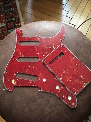 "Stratocaster pickguard Set "" red tortoise"