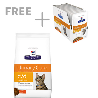 Hills Prescription Feline Multicare C/D 6KG