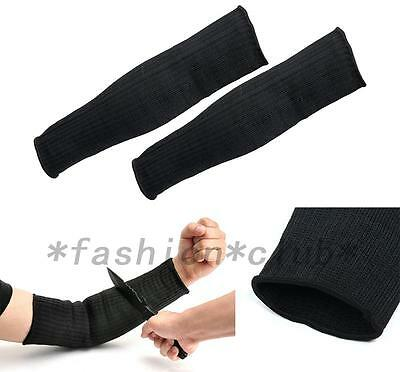 New Steel Wire Tactical Cut Proof Armband Protective Sleeve Arm Guard Bracers