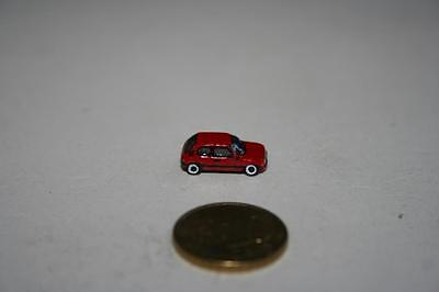 Spur Z 1:220 Kleinserie: Peugeot 205, rot, ohne Verpackung