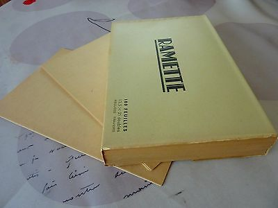 NEW OLD STOCK WWII VINTAGE WRITING lined PAPER 100 SHEETS