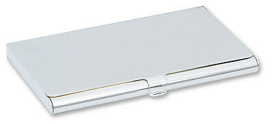 Personalised Silver Plated Business / Credit Card Case