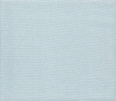 20 count Fabric Flair Snow Blue Evenweave Cross Stitch Fabric 49x60cm