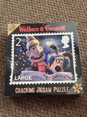 New Wallace & Gromit Cracking Jigsaw Puzzle 1000 Pieces Official Royal Mail 2Nd