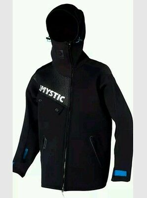 Mystic Coast Rigging Battle Jacket Black 150440 Mens Mystic Coast Jacket M New
