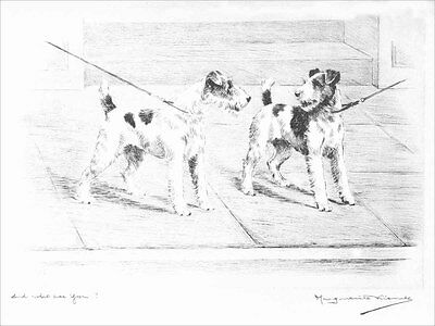 Fox Terrier Dogs 1925 Marguerite Kirmse ~ 8 LARGE New Blank Note Cards