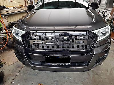 Ford Ranger Raptor Grille 4 White LED