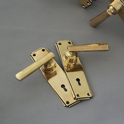Original Art Deco Lever Door Handles