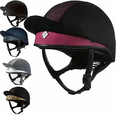 Charles Owen Pro II Equestrian Horse Riding Safety Hat Helmet Competition New