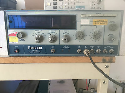 EX MOD Texscan VS-60C Sweep Generator Tested Working